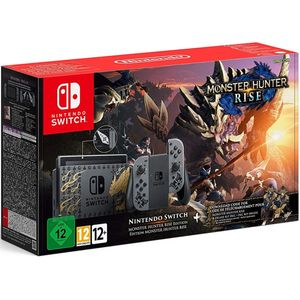 Nintendo Switch V2 Monster Hunter Rise Edition 32GB inkl. Monster Hunter Rise