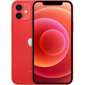 Apple iPhone 12 5G Smartphone 15,49cm (6,1 Zoll) OLED-Display, 128GB interner Speicher, Dual-SIM, iOS, (PRODUCT)RED