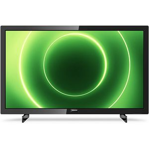Philips 24PFS6805 60 cm (24 Zoll) LCD-Technologie (Full HD, kein HDR) HD-Triple-Tuner (Sat, Antenne, Kabel) Smart TV Modelljahr 2020 Energieklasse A
