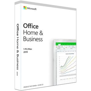Microsoft Office 2019 Home & Business (DE) Deutsch PKC für Windows 10 & MacOS (PC, MAC)