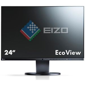 Eizo FlexScan EV2450-BK, schwarz - 23,8 Zoll, Full HD (1920 x 1080), IPS-Panel, 60Hz, 5ms, 250cd/m²