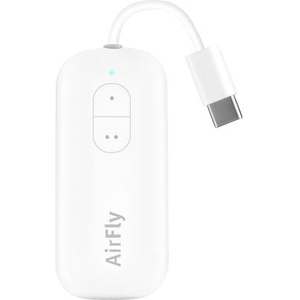 Twelve South AirFly USB-C, Wireless Transmitter With Audio Sharing for up to 2 Airpods-Wireless Headphones to Any USB-C Device such as iPad- Tablets